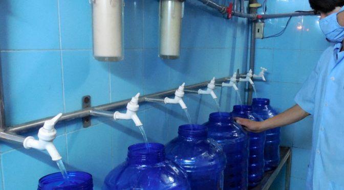 bán nước sạch