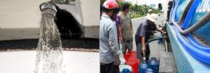 Cho thuê xe bồn chở nước sạch