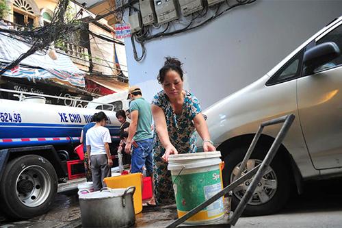 cấp nước sạch sinh hoạt
